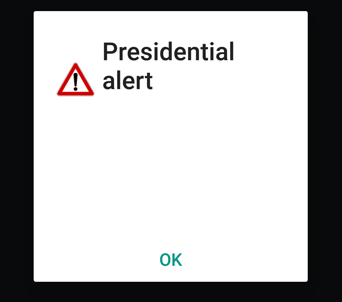 Presidential text message Blank Template - Imgflip