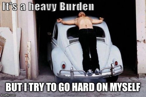 Heavy, Chris Burden | image tagged in pain,jesus crucifixion,art,performance,brace yourself,insults | made w/ Imgflip meme maker