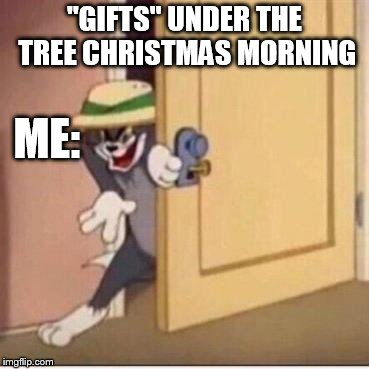 "'X' + 'mas'= Christmas what is 'x'? | ""GIFTS"" UNDER THE TREE CHRISTMAS MORNING ME: 