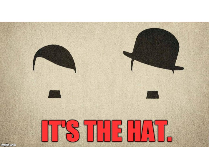 A Good Hat Makes A Big Difference | image tagged in hats | made w/ Imgflip meme maker