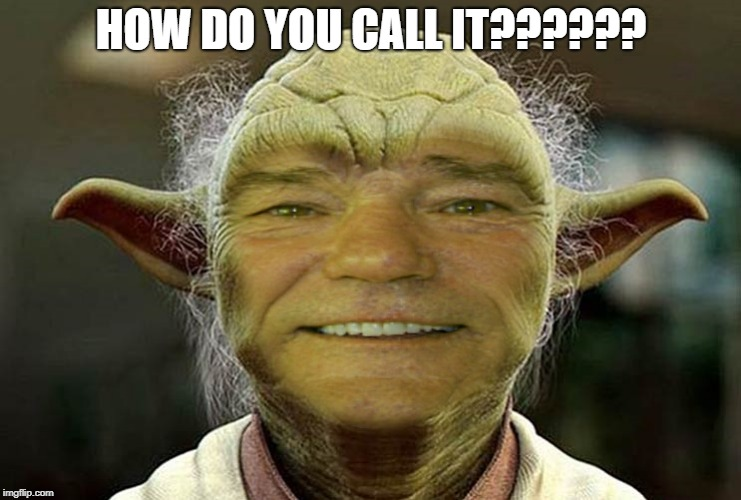 HOW DO YOU CALL IT?????? | image tagged in kewlewyoda | made w/ Imgflip meme maker