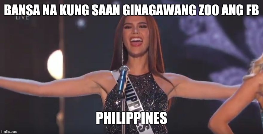 Image Tagged In Philippines Catriona Gray Imgflip