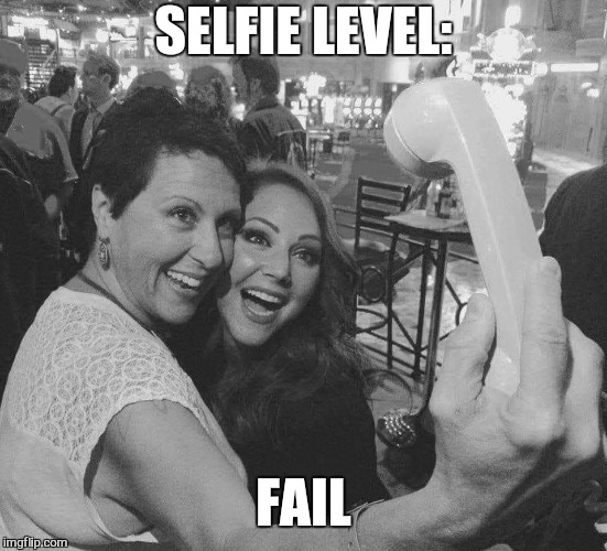 Old school | SELFIE LEVEL: FAIL | image tagged in memes,selfie stick,fail,epic fail,technology,old school | made w/ Imgflip meme maker