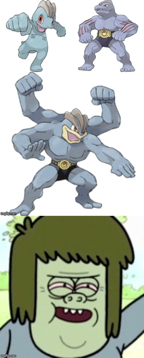 Ma mom! | image tagged in muscle man my mom,pokemon | made w/ Imgflip meme maker
