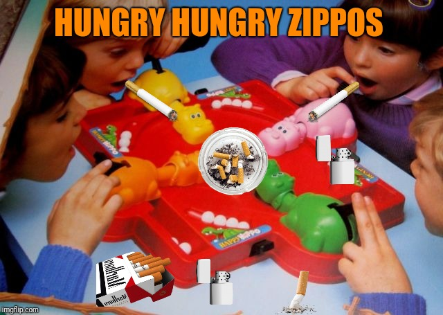 HUNGRY HUNGRY ZIPPOS | made w/ Imgflip meme maker