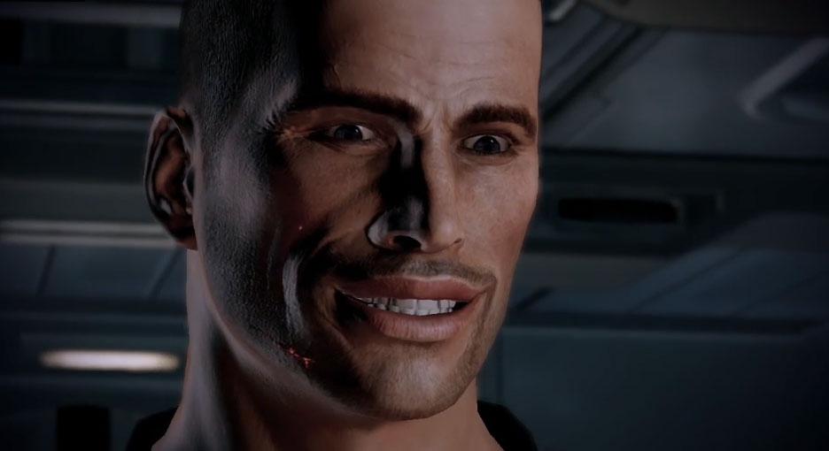 Commander Shepard Nice Blank Template Imgflip