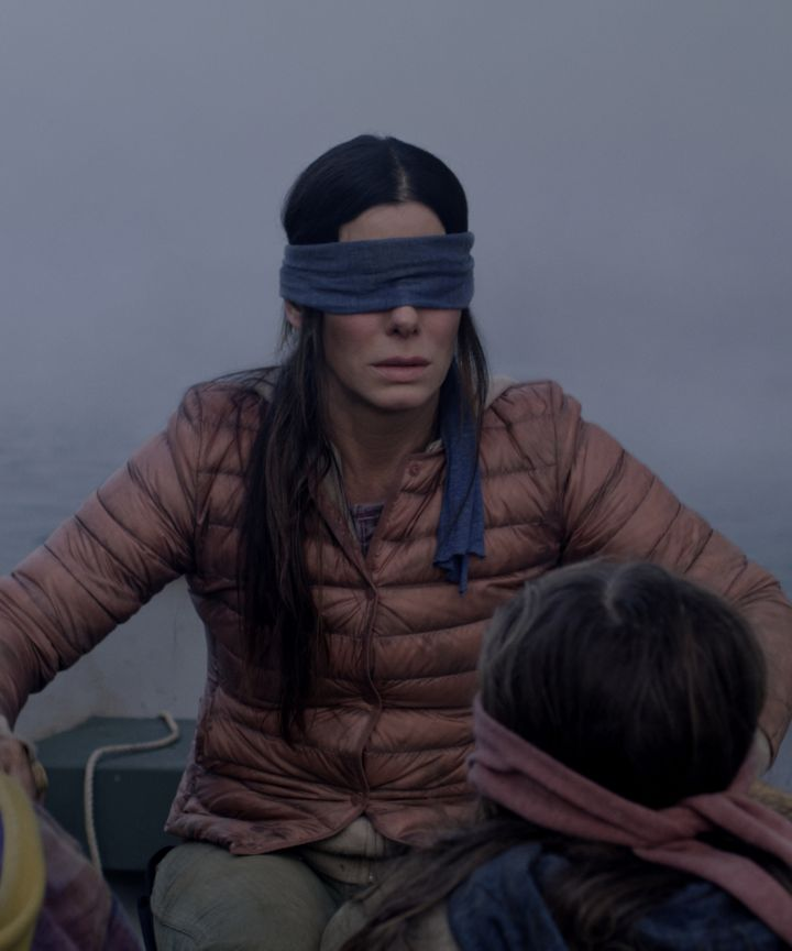 High Quality Malorie Birdbox Blank Meme Template