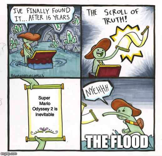 The Scroll Of Truth Meme - Imgflip