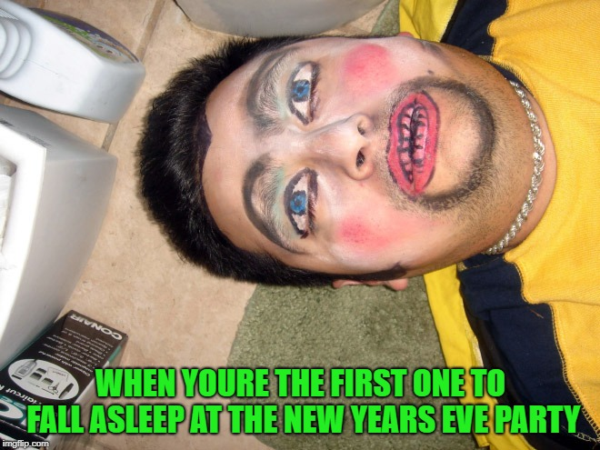 stay awake | WHEN YOURE THE FIRST ONE TO FALL ASLEEP AT THE NEW YEARS EVE PARTY | image tagged in new years eve party,first one to pass out | made w/ Imgflip meme maker