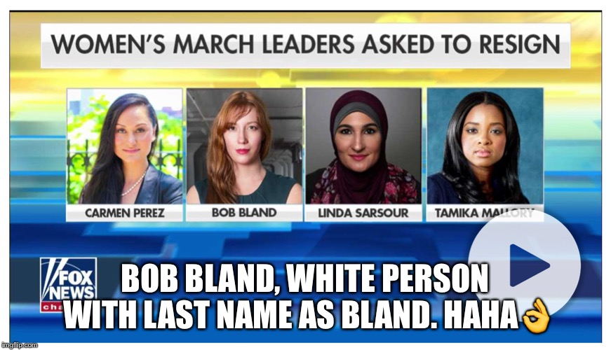 BOB BLAND, WHITE PERSON WITH LAST NAME AS BLAND. HAHA | made w/ Imgflip meme maker