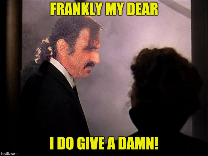 FRANKLY MY DEAR I DO GIVE A DAMN! | made w/ Imgflip meme maker