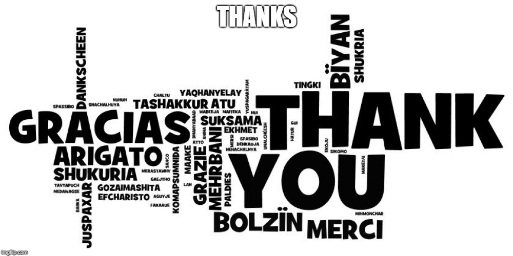 thanks | THANKS | image tagged in thanks | made w/ Imgflip meme maker