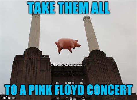 TAKE THEM ALL TO A PINK FLOYD CONCERT | made w/ Imgflip meme maker