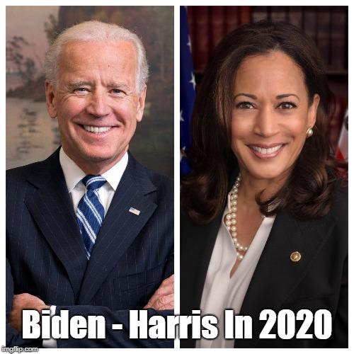 Biden - Harris In 2020   made w/ Imgflip meme maker