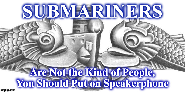 dolphins | SUBMARINERS Are Not the Kind of People, You Should Put on Speakerphone | image tagged in dolphins | made w/ Imgflip meme maker