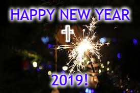 2019 | HAPPY NEW YEAR 2019! | image tagged in happy new year,new year,2019,blessed,cross,thankful | made w/ Imgflip meme maker