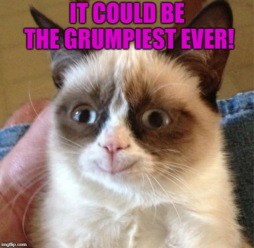 IT COULD BE THE GRUMPIEST EVER! | made w/ Imgflip meme maker