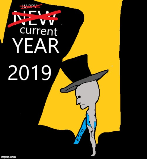 Champagne in the membrane | image tagged in 2019,npc,have a beige year | made w/ Imgflip meme maker