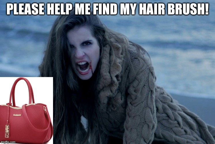 PLEASE HELP ME FIND MY HAIR BRUSH! | made w/ Imgflip meme maker