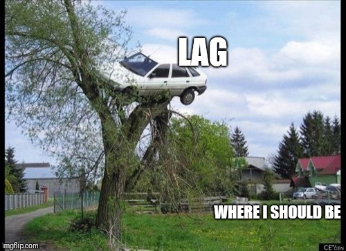 Secure Parking Meme | LAG WHERE I SHOULD BE | image tagged in memes,secure parking | made w/ Imgflip meme maker