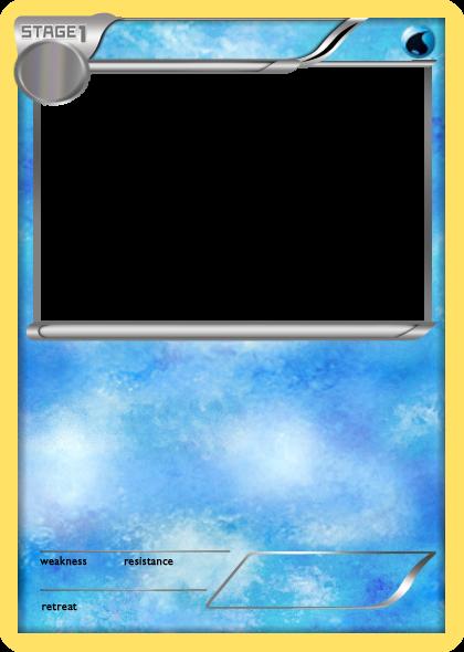 Pokemon Card Blank Template Imgflip