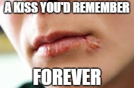A KISS YOU'D REMEMBER FOREVER | made w/ Imgflip meme maker