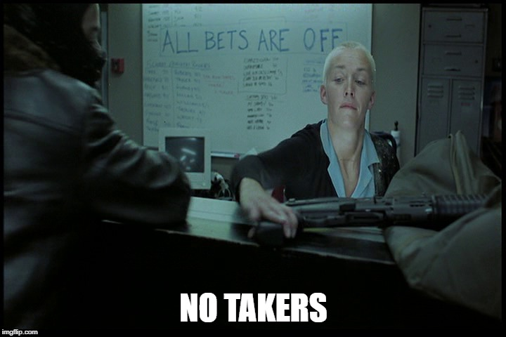 NO TAKERS | made w/ Imgflip meme maker