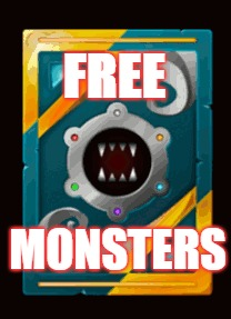 FREE; MONSTERS | made w/ Imgflip meme maker