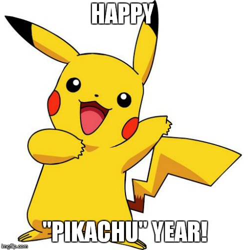 "Pikachu | HAPPY ""PIKACHU"" YEAR! 