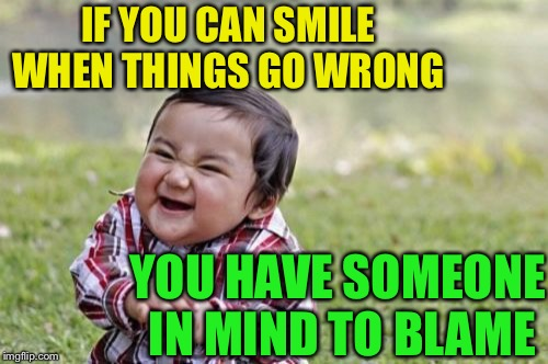 "As the old saying goes "" sh*t only travels downhill onto those underneath "" 