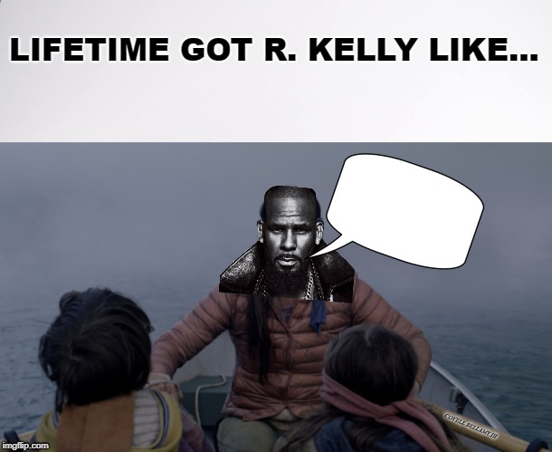 High Quality R Kelly Birdbox Blank Meme Template
