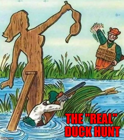"Hunting would be so much better if both sides played the game!!! | THE ""REAL"" DUCK HUNT 