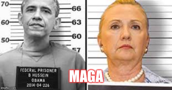 Lock them up | MAGA | image tagged in lock him up,lock her up,and then i said obama,hillary clinton,trump 2020 | made w/ Imgflip meme maker