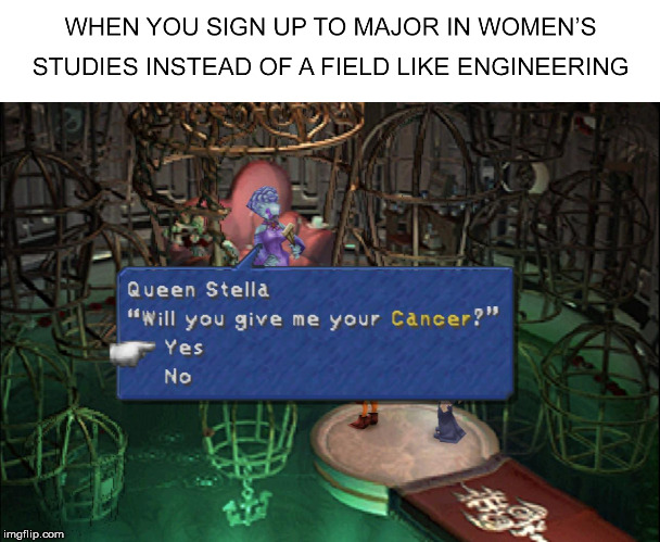 Who knew Communism was a Stellazzio? | image tagged in final fantasy,sjws,zodiac,feminism is cancer | made w/ Imgflip meme maker
