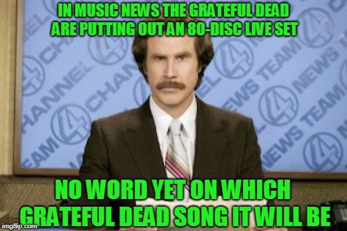 The Dead Love To Jam | image tagged in grateful dead | made w/ Imgflip meme maker