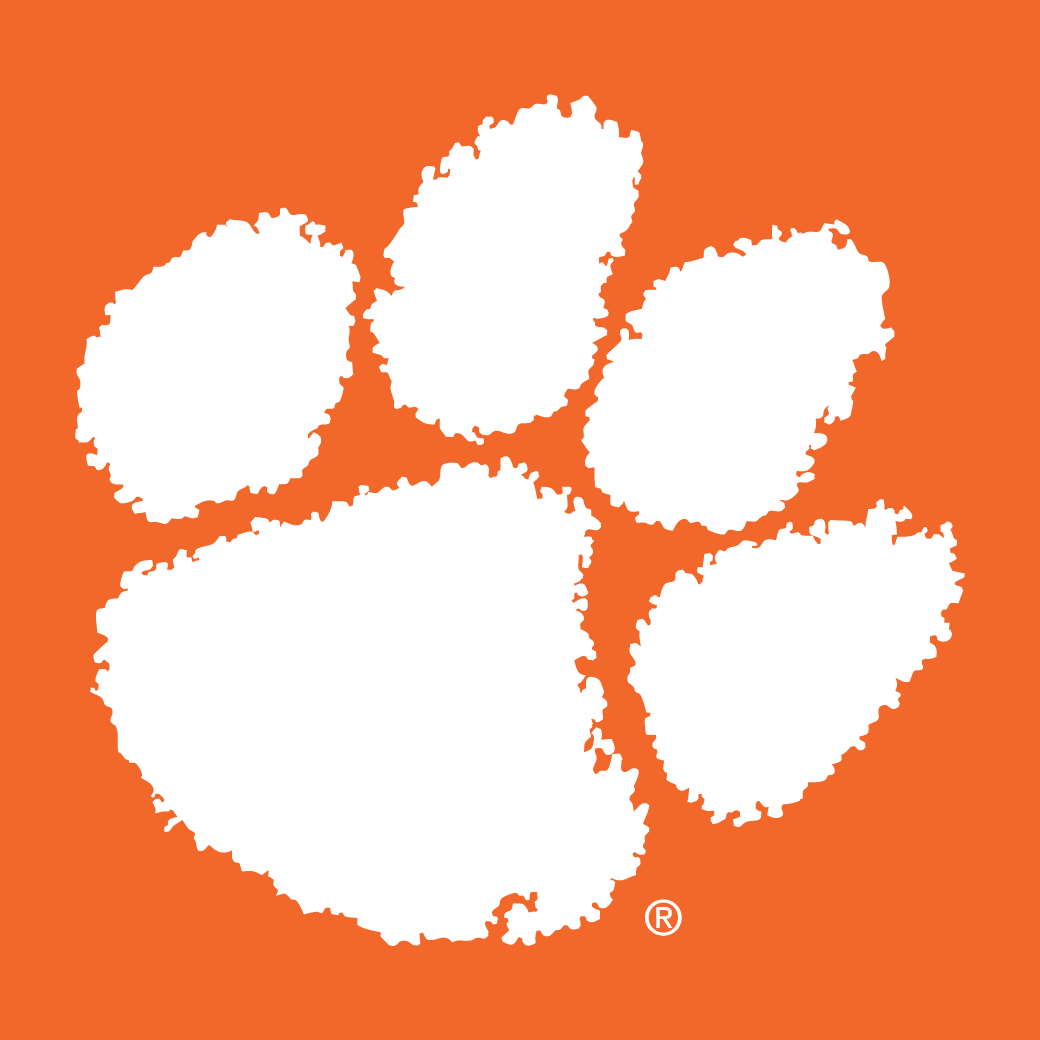 High Quality Clemson Tigers logo Blank Meme Template