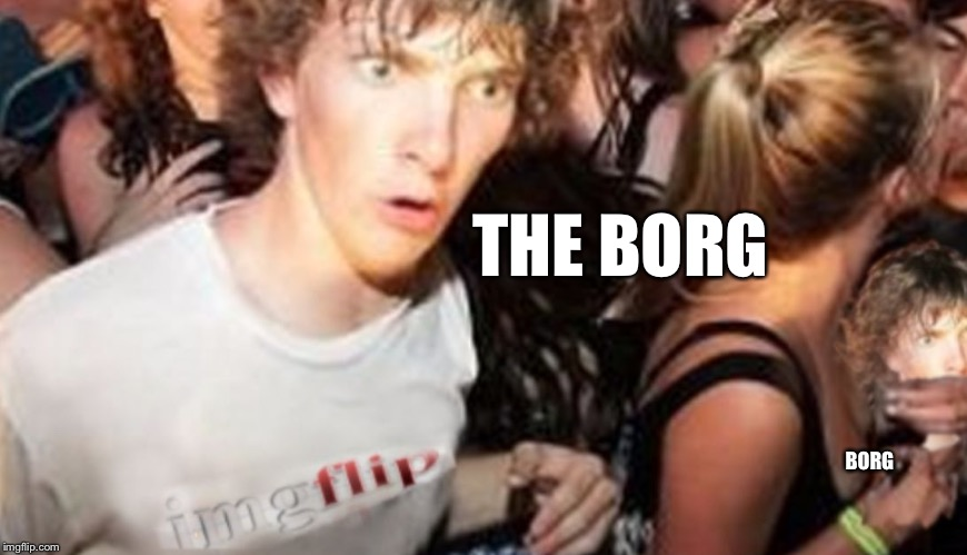 Nike | THE BORG BORG | image tagged in nike | made w/ Imgflip meme maker