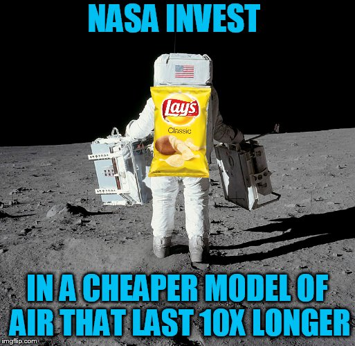 NASA INVEST IN A CHEAPER MODEL OF AIR THAT LAST 10X LONGER | made w/ Imgflip meme maker