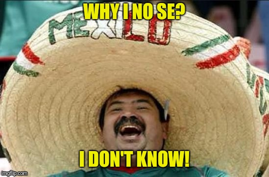 WHY I NO SE? I DON'T KNOW! | made w/ Imgflip meme maker