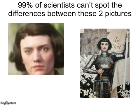 Someone from COD and someone from a burnt stake look the same?  | 99% of scientists can't spot the differences between these 2 pictures | image tagged in blank white template,memes,scientist,spot the difference | made w/ Imgflip meme maker