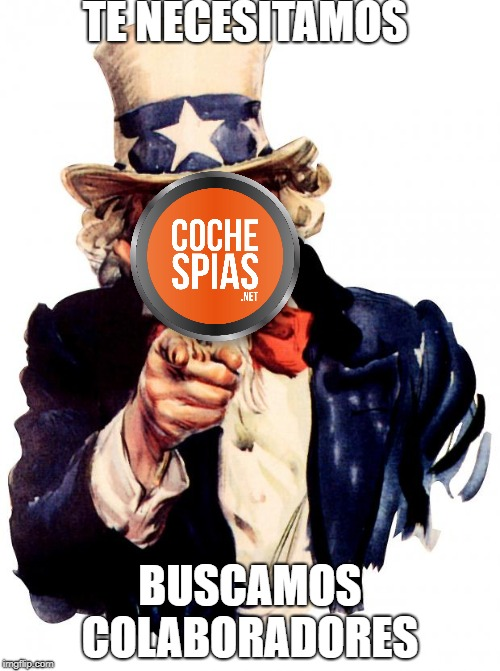 Uncle Sam Meme |  TE NECESITAMOS; BUSCAMOS COLABORADORES | image tagged in memes,uncle sam | made w/ Imgflip meme maker