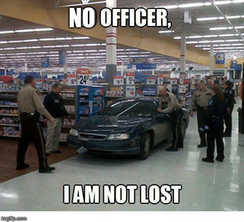 Drunk Driving Nowadays |  NO | image tagged in walmart,car memes | made w/ Imgflip meme maker