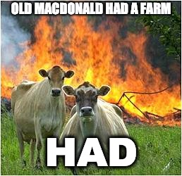 OLD MACDONALD HAD A FARM HAD | image tagged in lol,farmer | made w/ Imgflip meme maker