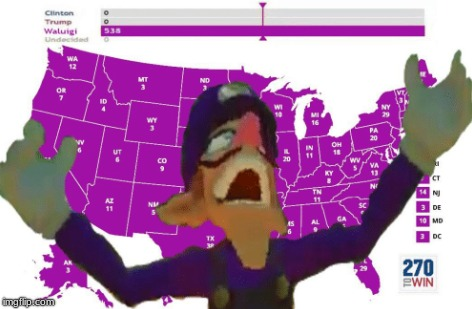Waluigi Is Taking OverWALUIGI_WEEK_FOR_ME!!! | image tagged in memes,political,waluigi,world domination | made w/ Imgflip meme maker