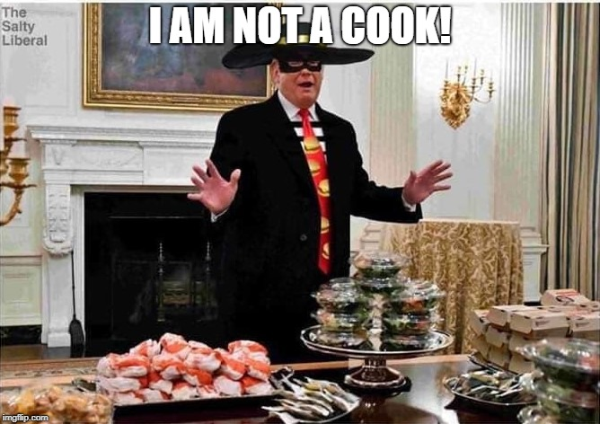 I AM NOT A COOK! | image tagged in clemson | made w/ Imgflip meme maker