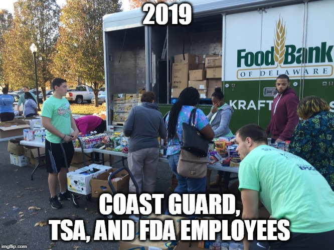 Billionaires dont give a   | 2019 COAST GUARD, TSA, AND FDA EMPLOYEES | image tagged in memes,maga,military,politics,impeach trump | made w/ Imgflip meme maker