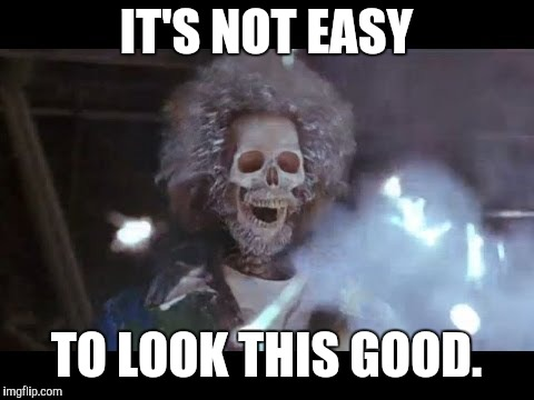 IT'S NOT EASY TO LOOK THIS GOOD. | image tagged in home alone electric | made w/ Imgflip meme maker