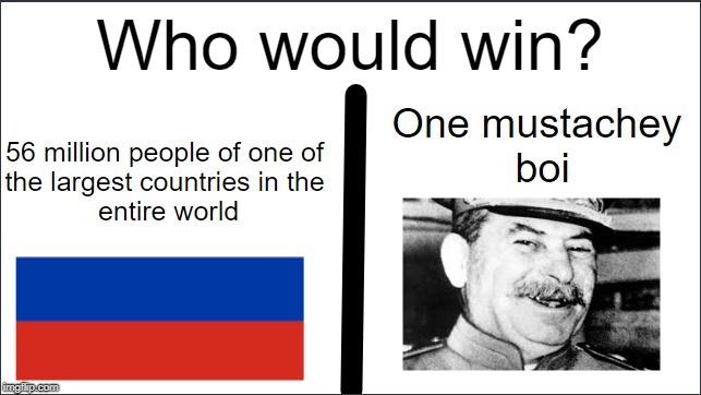 image tagged in joseph stalin,russia | made w/ Imgflip meme maker