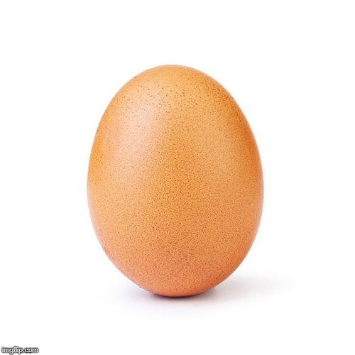 This egg made history. Let's let it make fifty upvotes! | image tagged in eggs,dumb | made w/ Imgflip meme maker