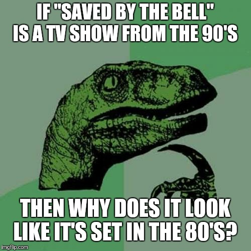 "Is it one of those decade-bender shows like ""Happy Days"", ""The Wonder Years"", ""That '70s Show"", and ""Everybody Hates Chris""? 
